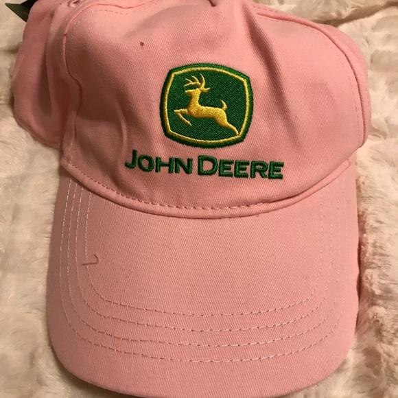 John Deere Accessories - Pink ladies John Deere cap NWT